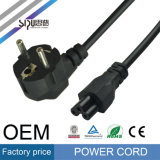 Câble électrique de cordon d'alimentation de fiche de Pin à C.A. 3 d'UE de Sipu