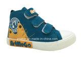 Neue Entwurfs-Kind-Segeltuch-Fußbekleidung (J2320-B)
