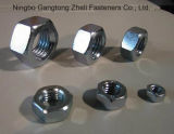 Zinc Plated ASTM A194 7L Heavy Hex Nuts