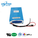 Batteria di ione di litio solare ricaricabile dell'indicatore luminoso di via