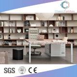 OEM L meubles de bureau commerciaux de poste de travail de forme