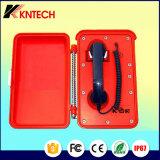 Telefone impermeável industrial do telefone Knsp-03 SOS do telefone resistente