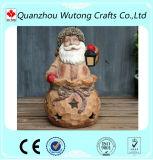 Держатель ручки свечки Santa Claus украшения рождества