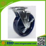 150mm 산업 Caster&#160를 위한 단단한 PU 바퀴 피마자;