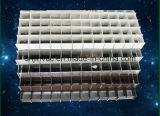 Révision de diffuseur de plafond de grille d'aération de gril de caisse d'oeufs de climatiseur