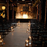 결혼식 LED Tealight 경경 초 건전지에 의하여 운영하는 노란 불꽃 없는
