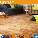 Mattonelle di pavimento di legno del vinile del PVC del grano di alta qualità e del bene durevole