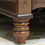 Mesa de noche de madera de estilo americano para muebles de oficina (AS816)