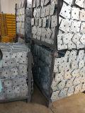 構築および型枠のための電流を通された足場旋回装置ベースジャック
