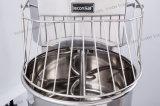 Misturador de massa de pão espiral ereto do assoalho 100L comercial do Ce do equipamento da padaria