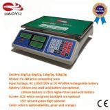Elektronischer Digital-Preis-rechnenschuppe mit dem Kabel RS232 Gebrauchtgeräte-
