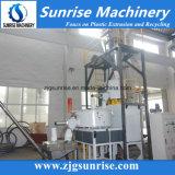 Misturador de PVC de alta velocidade com misturador de alta velocidade com sistema de alimentação automática