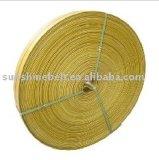 Tela di canapa resistente ad alta resistenza e fredda della cinghia di gomma piana di uso di alta qualità del cotone