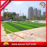 precio bajo del jardín de 25m m de la hierba del césped artificial plástico verde de la estera