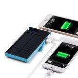 Портативный солнечный крен силы заряжателя с стыковкой 7000mAh телефона удваивает свет USB Sos СИД