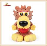 Juguete chillón del perro encantador del tigre del juguete del vinilo del animal doméstico (KB1048)