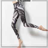 Reizvolle Yoga-Hosen der kundenspezifischen Großhandelsyoga-Abnützung-Frauen