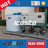 8000kg/24h trocknen Flocken-Eis-Maschine für Eis-Fabrik