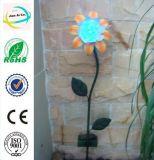 Sonnenblume-Form-Sonnenenergie-Metallfertigkeit für Dekoration