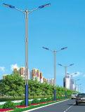 Luces de calle solares del brazo doble comprable con 3-5 años