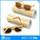 Les plus défuntes lunettes de soleil en bambou polarisées modèles de monture de lunettes avec le cas
