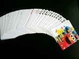 Cartões de jogo feitos sob encomenda do papel de Deisgn com os cartões do suporte/póquer