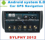 Automobile DVD del Android 6.0 per Nissan Sylphy 2012 con percorso dell'automobile