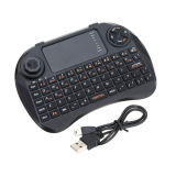 rádio 3 de 2.4GHz X3 em 1 teclado magro do Touchpad do controlador remoto do rato de Fly Air para a caixa Android da tevê do PC