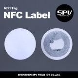 NFC 13.56MHzのラベルHf防水Ntag 216 RFID