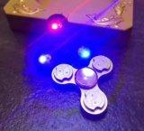 Alta velocità di ceramica del cuscinetto a sfere 606 giocattolo infiammante di irrequietezza della girobussola di coppia di torsione LED di EDC della girobussola delle più di 3 di minuti della mano punte delle dita del filatore