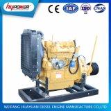 40kw/55HP Water Cooled 4 Dieselmotor Cylinder met Clutch