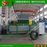 Máquina trituradora Shredwell de Llantas de Desecho para neumáticos usados con Siemens PLC