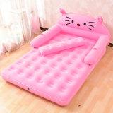Confortable design Carré gonflable Carton lit d'air pour enfants ou enfants