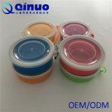 Copo dobrável do silicone do produto comestível, copo de dobramento para ao ar livre