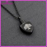 Вал ожерелья кремации ожерелья нержавеющей стали сердца жизни привесного