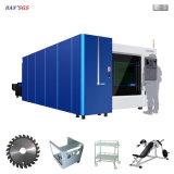 Machine de découpage de laser de fibre pour le matériel métallurgique, ascenseurs