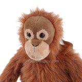 Jouet laid de singe de cadeau de peluche spéciale d'émulation