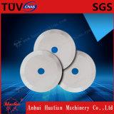 Láminas de cerámica redondas de la precisión para la película plástica del corte