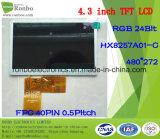 """4.3 """" экран касания варианта 480X272 RGB 40pin, индикация TFT LCD"""