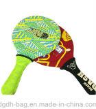 Ракетка тенниса пляжа верхнего качества для игры и промотирования Soprts
