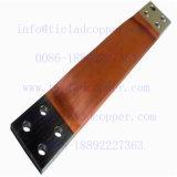 Plaque d'acier revêtue de cuivre soudée explosive pour barres conductrices