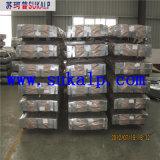 Lamiere di acciaio ondulate galvanizzate per le pareti