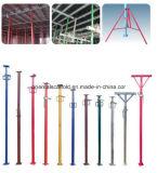 Apoyo resistente del acero del soporte de tubo del encofrado ajustable