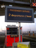 Afficheur LED sec d'en 12966 de ville d'aéroport de train de bus de route, Afficheur LED de circulation, écran d'Afficheur LED de circulation, panneau d'Afficheur LED de circulation, panneau d'Afficheur LED de circulation