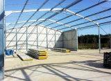 Prefab конструкция чертежей сарая стальной структуры
