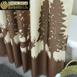 Cortinas de chuveiro desproporcionados do teste padrão feito sob encomenda da árvore extremamente por muito tempo