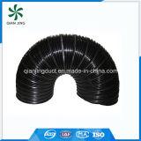 Schwarze biegbare flexible Aluminiumleitung für industrielle HVAC-Systeme