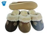 Тапочка спальни дома плюша Wonmen крытая мягкая на зима