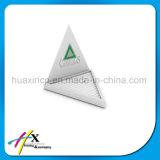 Verpakkende Doos van de Houder van de Ring van de Vertoning van de Juwelen van de Driehoek van de douane de Met de hand gemaakte