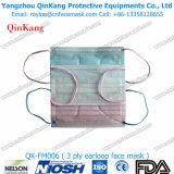 Masque protecteur remplaçable non-tissé chirurgical approuvé de la CE d'OIN avec Earloop